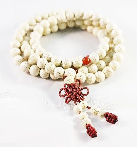 Color de Buda semillas de Bodhi Yoga Mala joya pulsera de ...