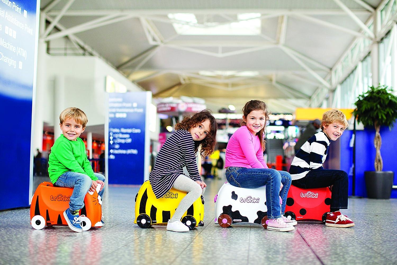 Amazon.com: Trunki - Bernard the Bee (Yellow) Rolling Luggage ...