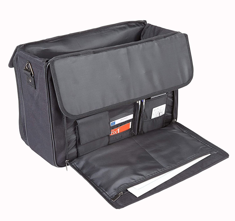 FI2559 Falcon Polyester Pilot Case for Laptop Black