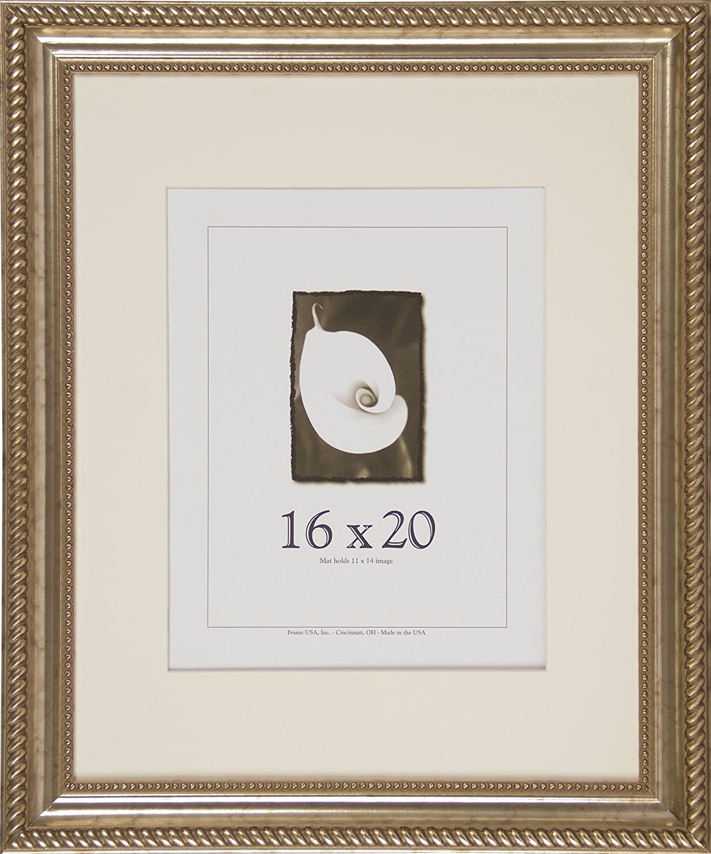 Amazon.de: 16 x 20 Holz Bilderrahmen, Napoleon Serie (Antik Silber)
