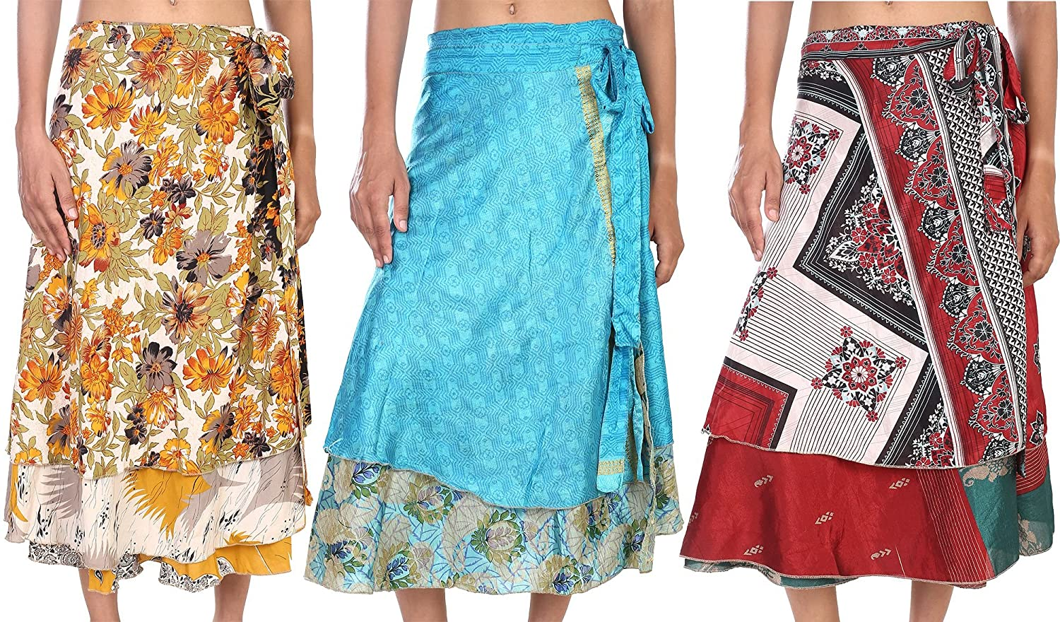 Watch - Wrap indian skirt how to wear video