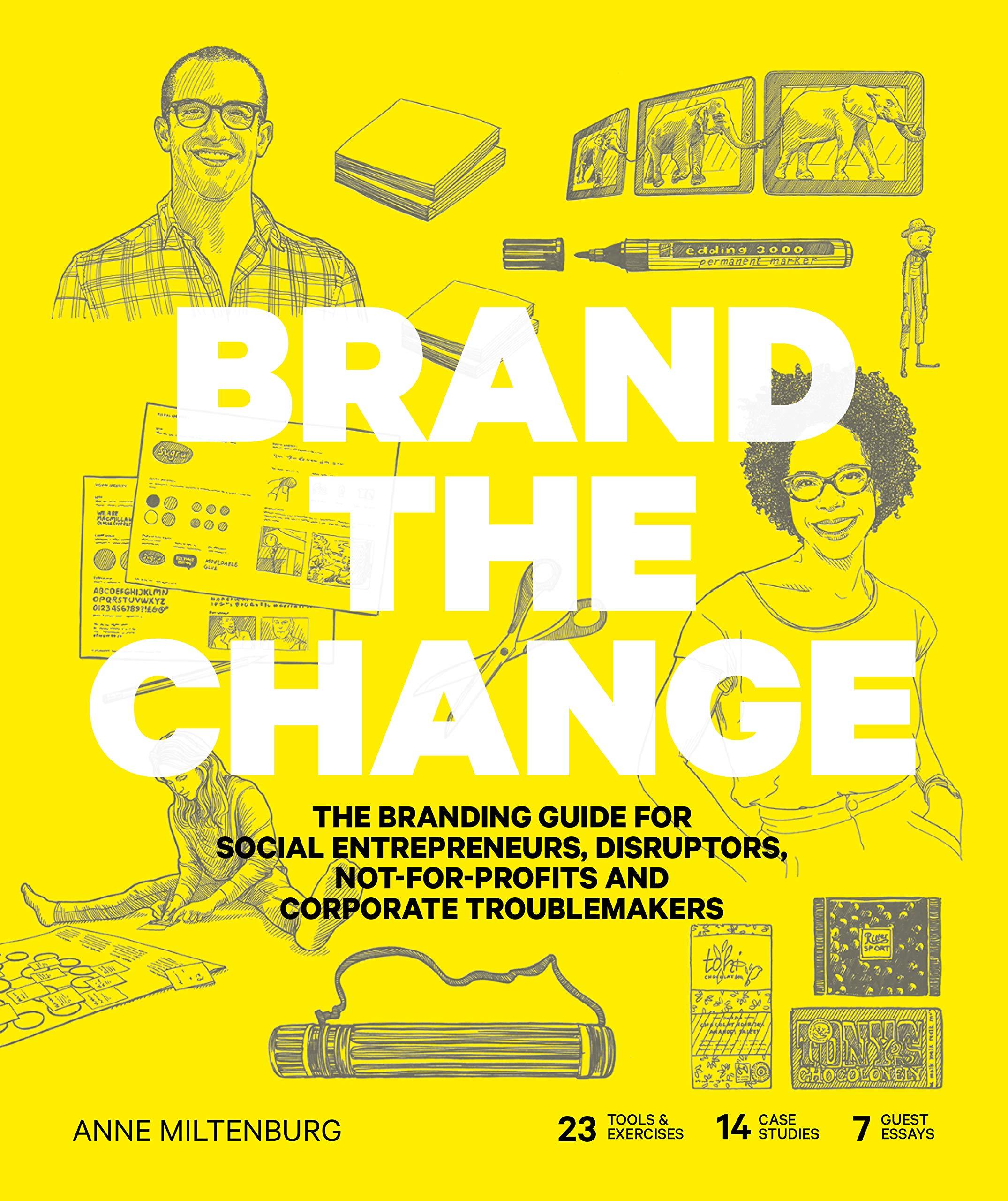 Brand Change entrepreneurs not profits product image