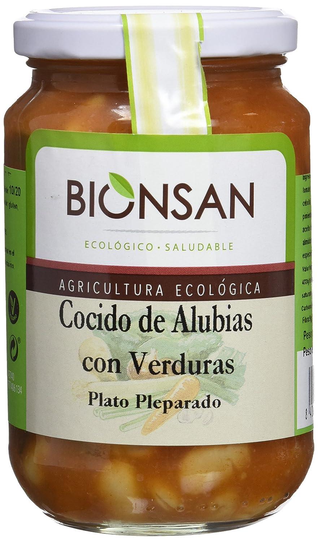Bionsan Cocido de Alubias con Verduras Ecológico   6 Paquetes de ...