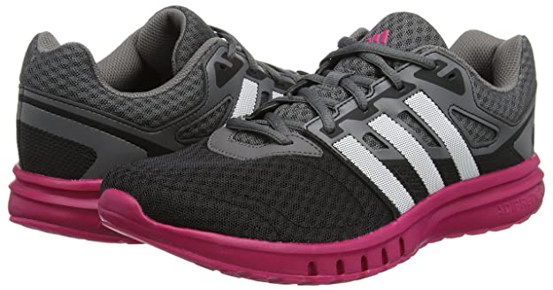 Amazon.com | adidas - Galaxy 2 W - AF5570 - Color: Black-Pink-Grey - Size: 7.0 | Fashion Sneakers