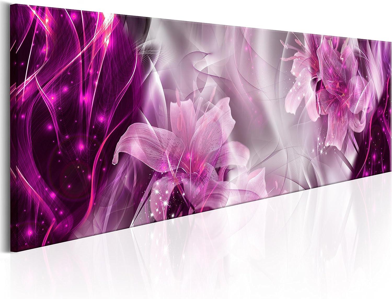 murando - Cuadro de Cristal acrílico 120x40 cm - 1 Parte - Cuadro de acrílico - Impresion en Calidad fotografica – Flores Abstracto a-C-0061-k-b