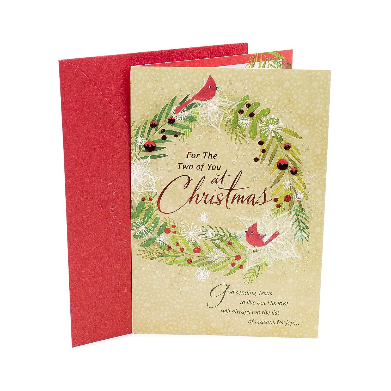 Amazon DaySpring Religious Christmas Card for Couple