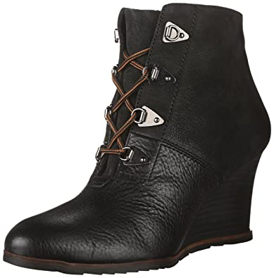 Amazon.com | Franco Sarto Women's Derby Wedge Ankle Boot | Ankle ...