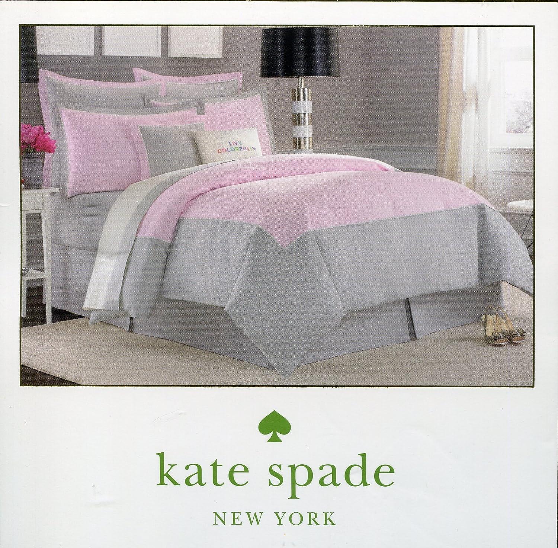 Kate Spade Duvet Cover Amazoncom Kate Spade New York Spring Street Sweet Lilac European