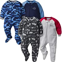 GERBER Baby Boys' 4-Pack Blanket Sleeper