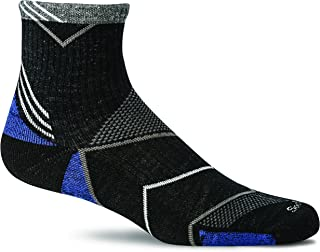 product image for Sockwell M's Incline Quarter Sock with a Helicase Sock Ring