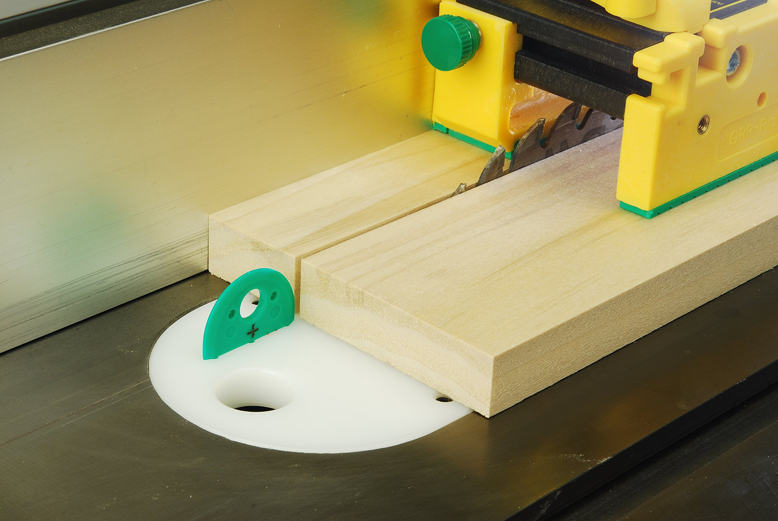 MJ SPLITTER for 1/8'' Kerf Saw Blades by MICROJIG. Table Saw Safety Splitter System
