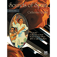Sounds of Spain, Book 1: For Early Intermediate Intermediate Piano book cover