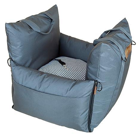 Amazon.com: Asiento de coche para perro QUEENS NOSE, asiento ...