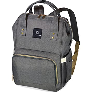 9d483fe18436 Amazon.com   Soulsten Diaper Bag Backpack