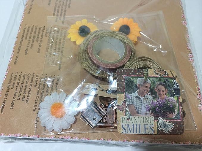 Amazon.com: Recollections Vintage Romance ~ Mini Chipboard ...