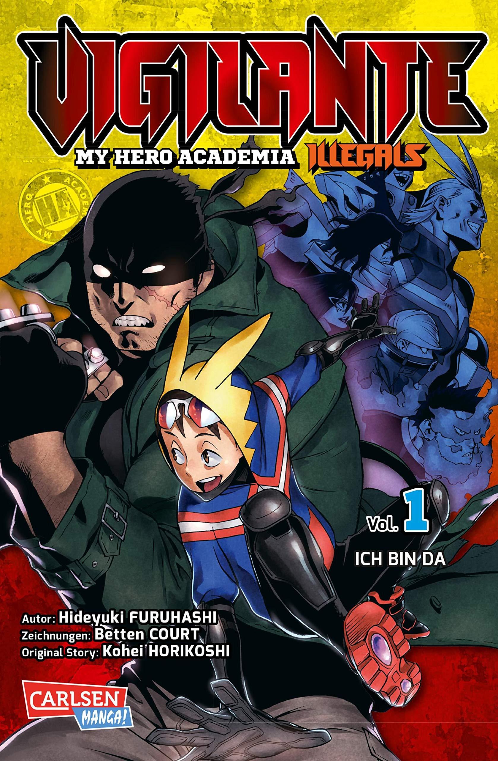 Vigilante - My Hero Academia Illegals 1