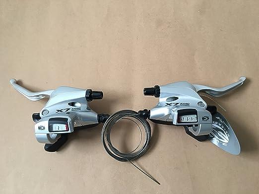 Shimano Deore LX ST-M590 links 3-Fach 3x9 Bremshebel Schalthebel NEU