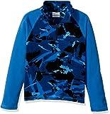 Columbia Boys' Glacial LL Print Half Zip Jacket
