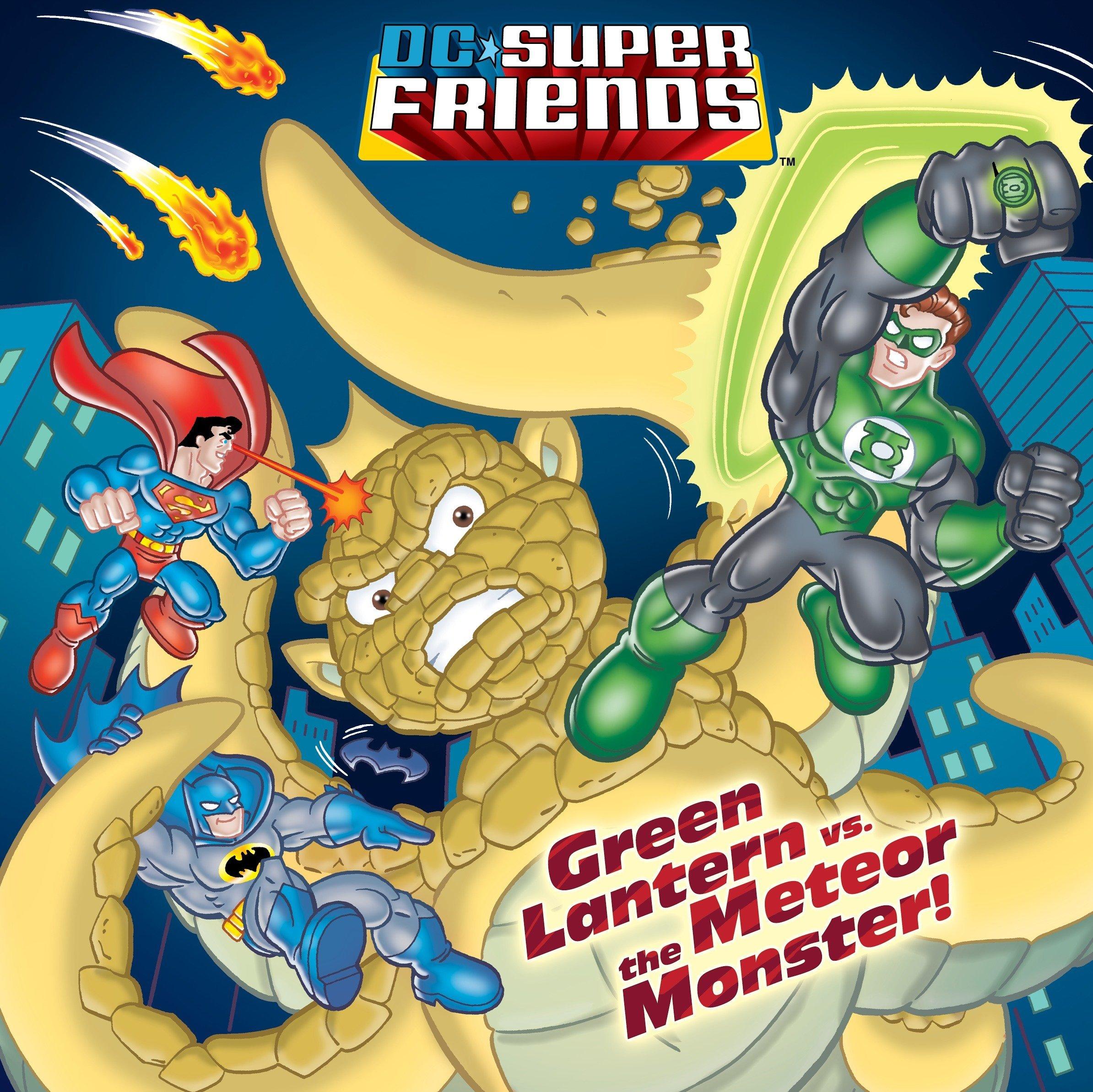 Download Green Lantern vs. the Meteor Monster! (DC Super Friends) (Pictureback(R)) pdf epub