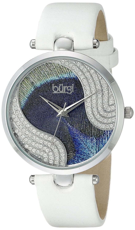 Burgi Damen-Armbanduhr Woman Analog Quarz BUR131WTS
