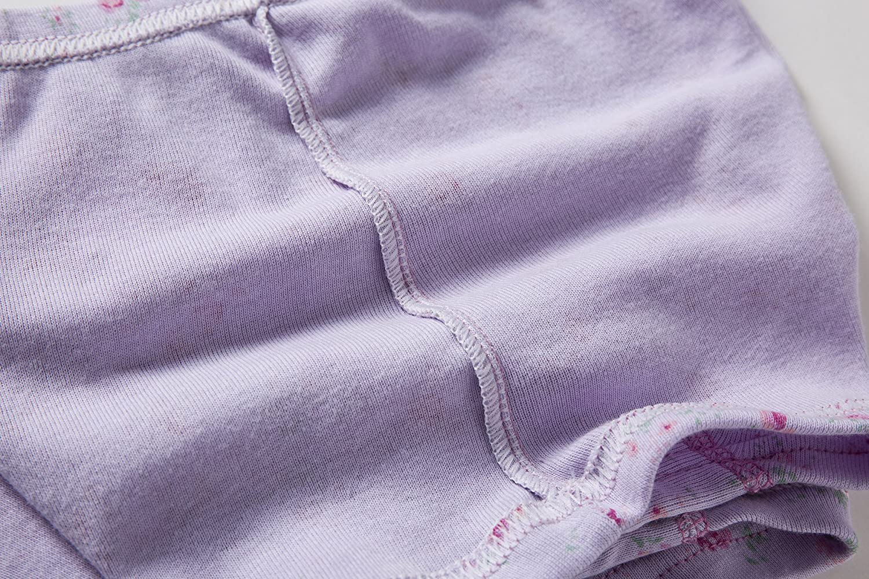 Skhls Baby Girls Cute Briefs Panties Boxers Cotton Underwear,Multi Pack