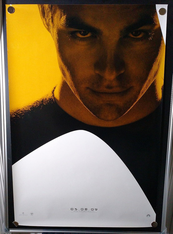 Star Trek Chris Pine Comic Con Original Single Sided Rolled 27x40 Movie Poster 2009