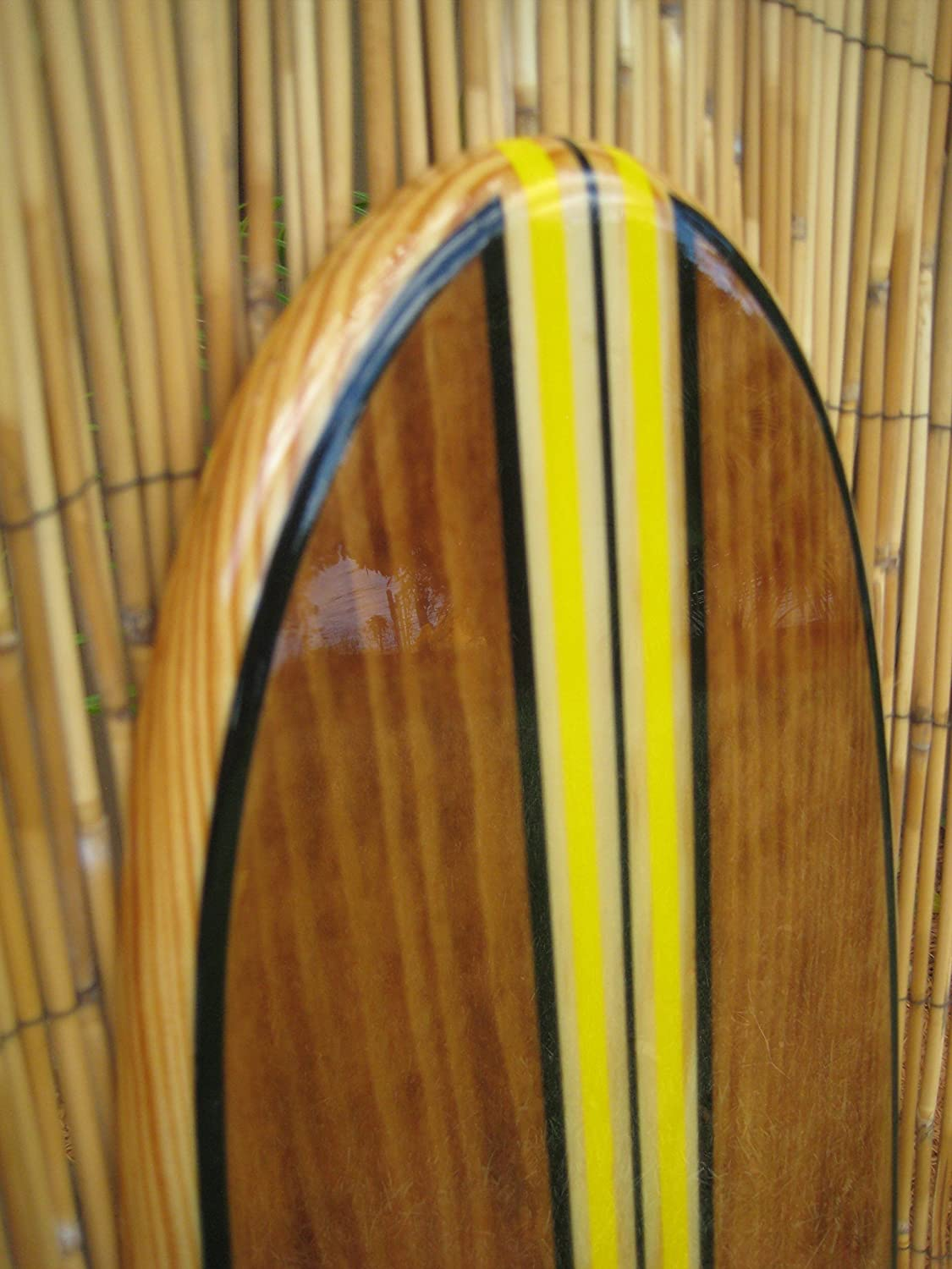 Amazon.com: Solid wood wall hanging decorative surfboard for a ...