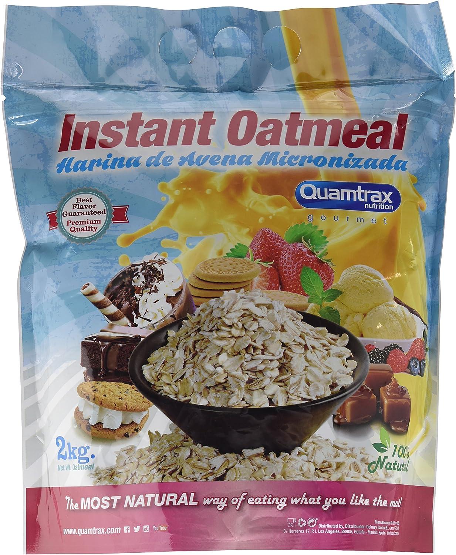 Quamtrax Nutrition Avena Instantánea, Sabor Galleta Tradicional ...