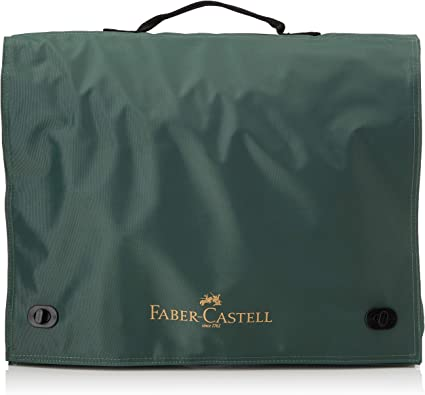 Faber-Castell 175704 Carry Case for A4 Drawing Boards-TK-System Green Red