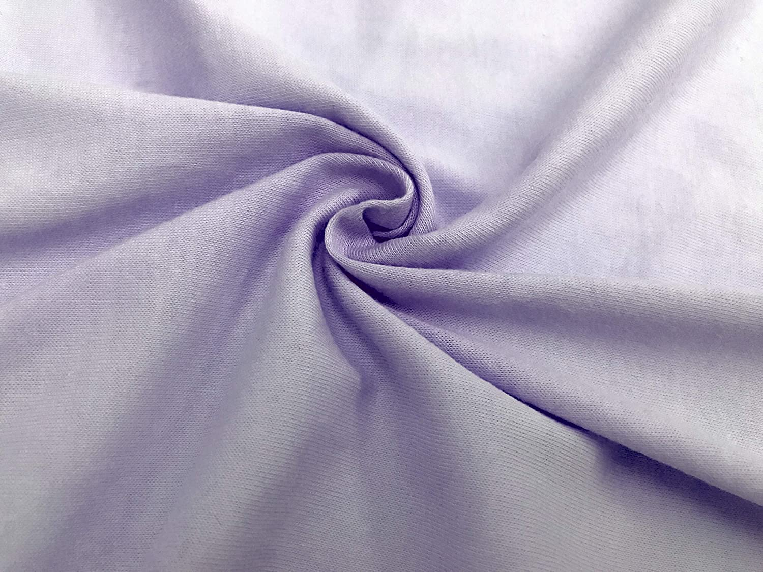 Soft Breathable Lavender American Baby Company 100/% Natural Cotton Supreme Jersey Knit Fitted Cradle Sheet for Girls