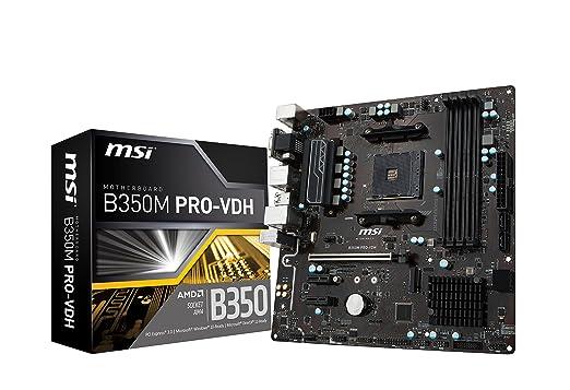 25 opinioni per MSI Gaming AMD Ryzen B350DDR4VR Ready HDMI USB 3scheda madre ATX (B350Gaming
