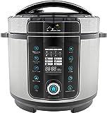 Pressure King Pro 6 Litre 20-in-1 Digital Electric Pressure Cooker, 1000 W, Chrome