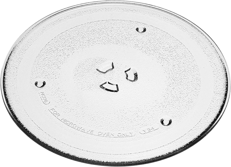 vhbw Placa de microondas compatible con Samsung ME71M ME71M/XEN, ME71M ME71M/XEO, ME731K ME731K/XEO, ME731KR ME731KR/BWT microondas
