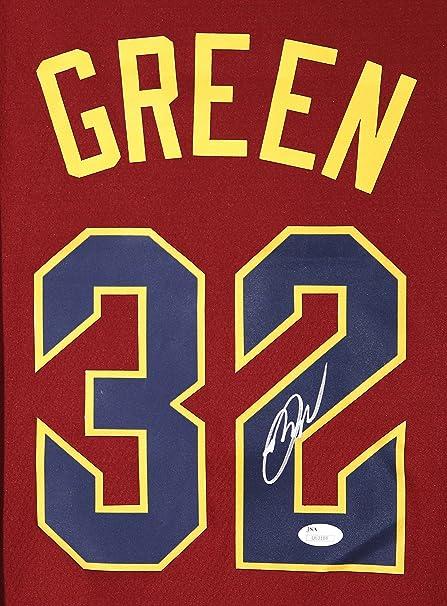 save off e7e23 a6935 Jeff Green Cleveland Cavaliers Cavs Signed Autographed Wine ...