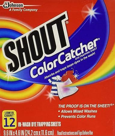 Amazon.com: Shout Color Catcher 12 Count: Health & Personal Care