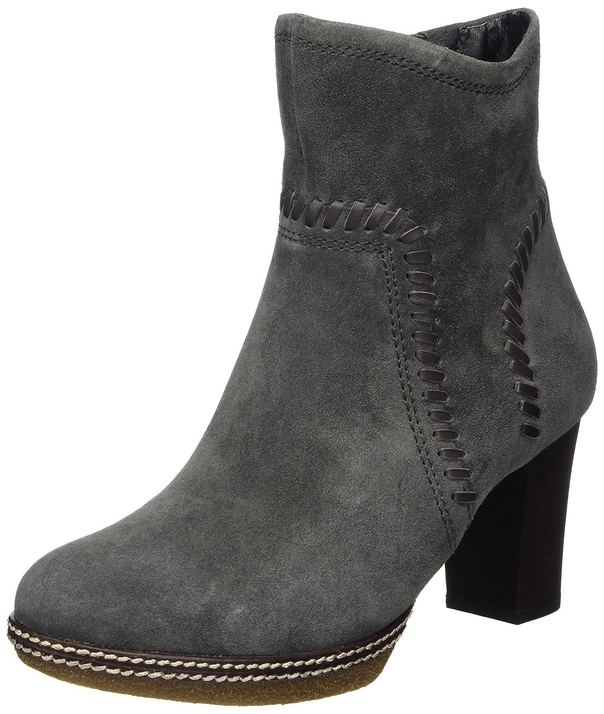 Gabor Shoes Comfort Sport, Botas para Mujer35 EU|Gris (39 Dark-grey Micro)