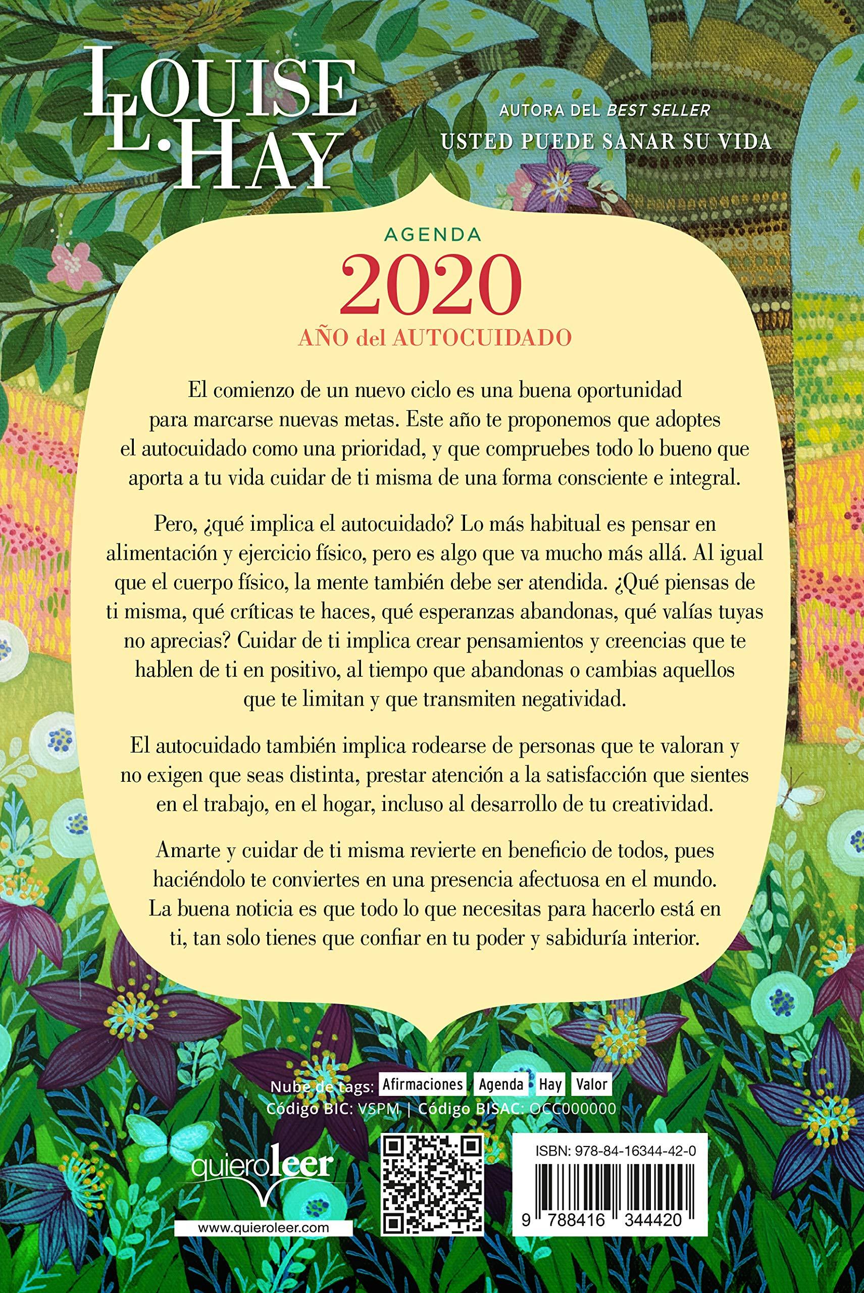 Agenda Louise Hay 2020. Ano del autocuidado (Spanish Edition ...