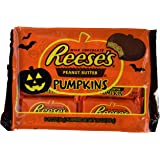 Reese's Halloween Peanut Butter Pumpkins, 6-Count, 1.2-Ounce Packages (Pack of 3)