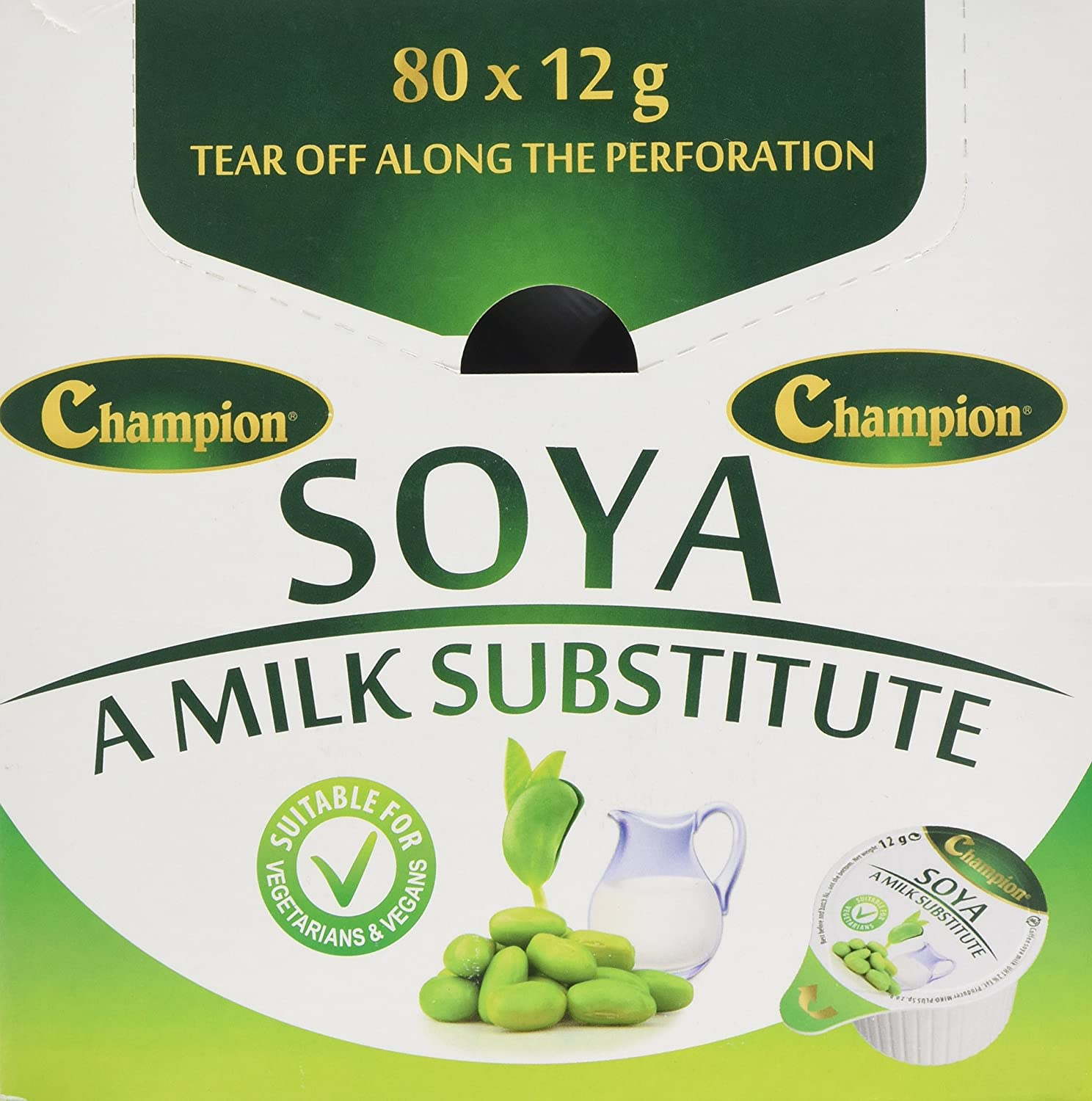 Individual Soya Milk Substitute Portions 80 Pods: Amazon.co.uk: Grocery