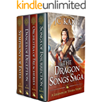 The Dragon Songs Saga: The Complete Quartet: Songs of Insurrection, Orchestra of Treacheries, Dances of Deception, and Symphony of Fates