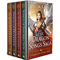 The Dragon Songs Saga: The Complete Quartet: Songs of Insurrection, Orchestra of Treacheries, Dances of Deception, and Symphony of Fates (English Edition)