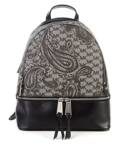 334f02291fc4 Image Unavailable. Image not available for. Color: MICHAEL Michael Kors  Studio Rhea Paisley Medium Zip Backpack