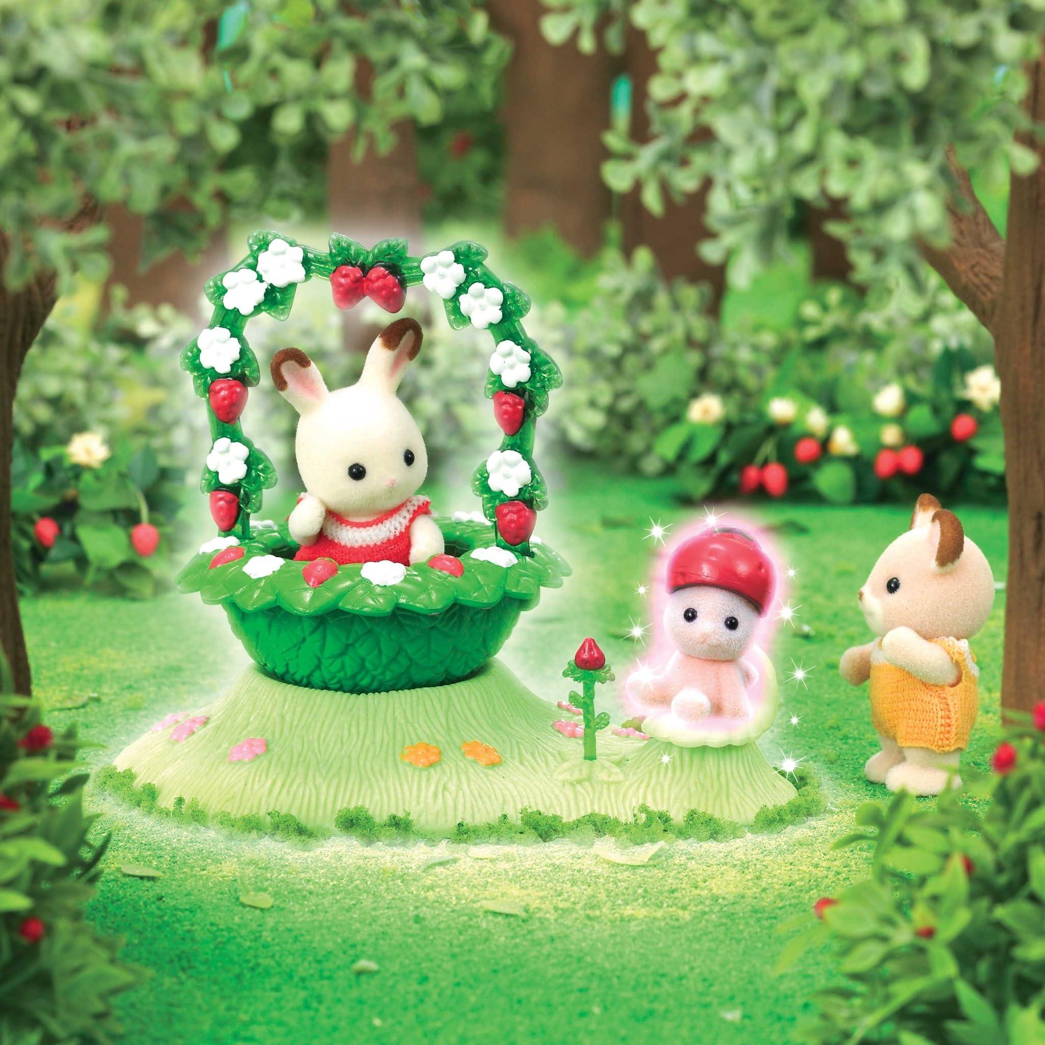 シルバニアファミリー Ipad壁紙 森の小さな妖精 いちごの妖精 その他