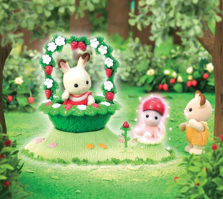 シルバニアファミリー 森の小さな妖精 いちごの妖精 HD(1440×1280)スマホ 壁紙・待ち受け