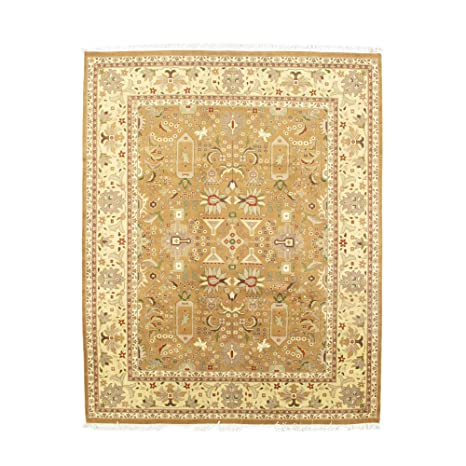 Amazon Com Nyc Rugs New 8x10 Wool Hand Knotted 8 1 X 10 1 Fine