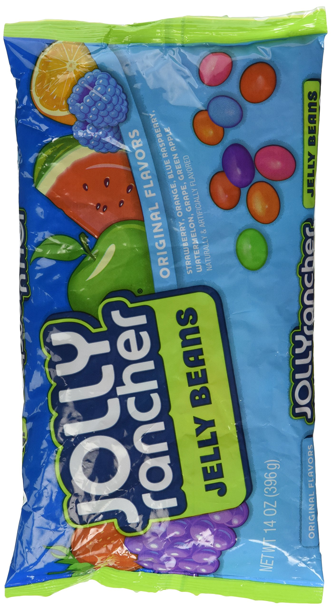 Jolly Rancher Jelly Beans, 14-Ounce Bag (Pack of 6) by Jolly Rancher