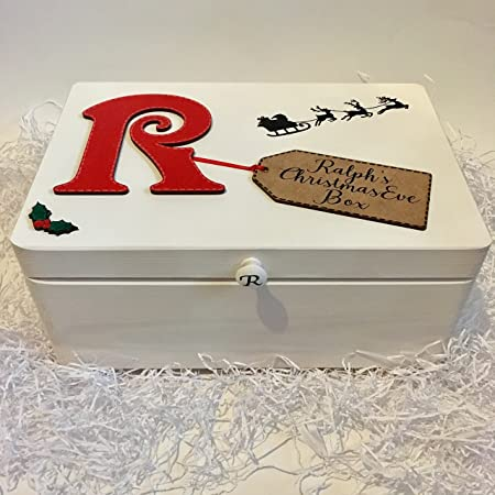Countdown & Celebrate Personalised Wooden Christmas Eve Box Poem ...