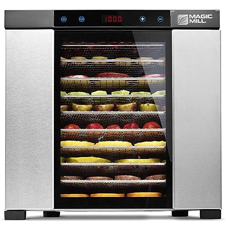 Amazon.com: MAGIC MILL Máquina deshidratadora de alimentos ...