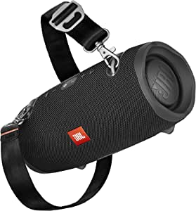 JBL Xtreme 2 Bluetooth Speaker with Rechargeable Battery, Waterproof, Carry Strap Included, Black