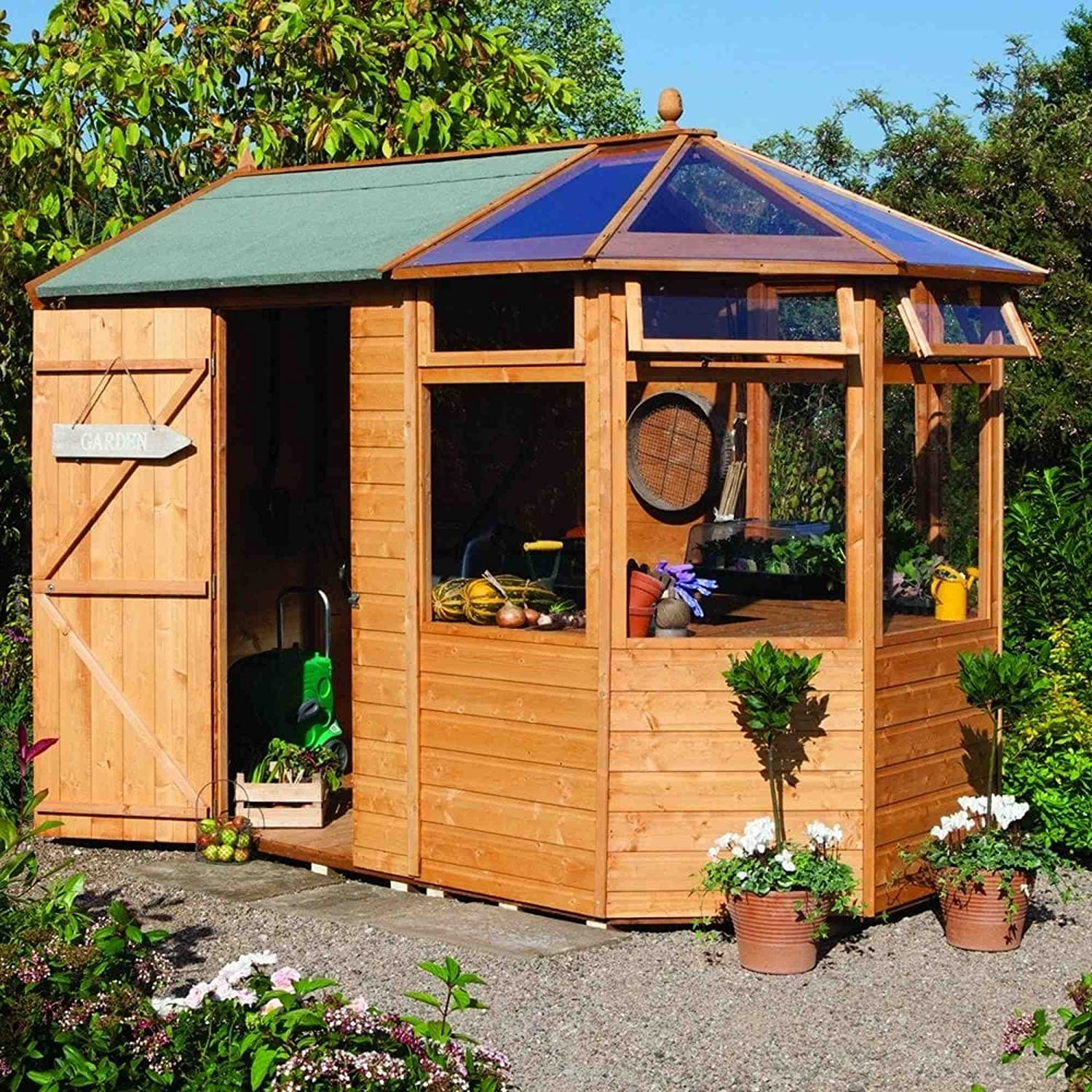 base pergola wooden rustic home the storage of sheds wood lawsonreport roof garden shed image inspirations made potting ideas cedar custom diy dome plans